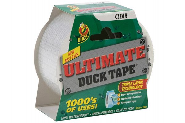 Shurtape Duck Tape® Ultimate 50mm x 20m Clear