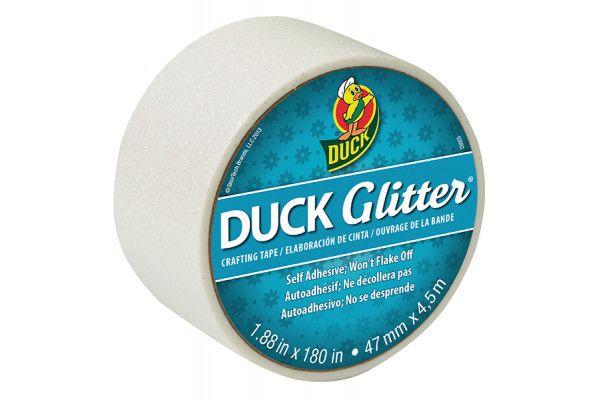Shurtape Duck Tape® 47mm x 4.5m Glitter White