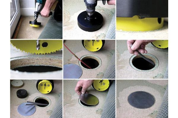 Super Rod Cavity Master for Floors and Walls