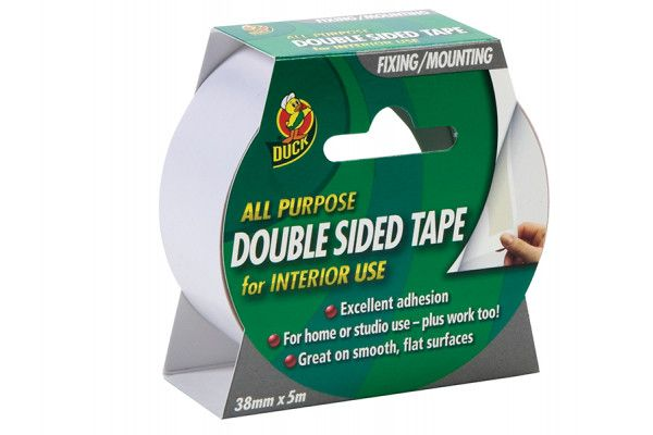 Shurtape Duck Tape® Double Sided Interior Tape 38mm x 5m