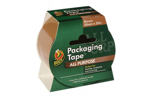 Shurtape Duck Tape® Packaging 50mm x 25m Brown
