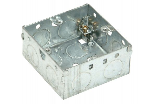 SMJ Metal Box 1 Gang 35mm Depth - Loose