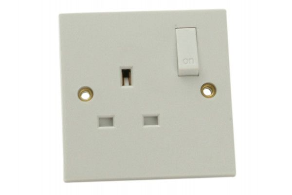 SMJ Switched Socket 1 Gang 13A