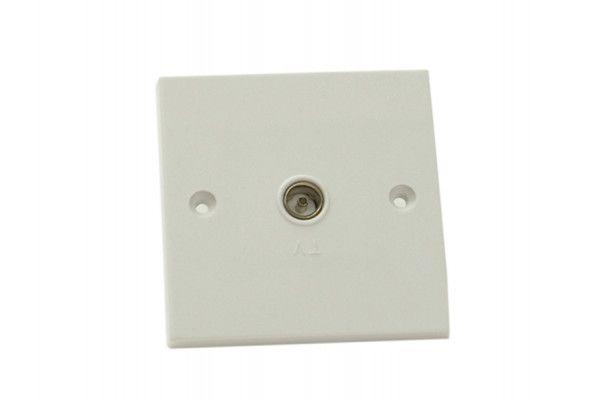 SMJ Coaxial TV Socket 1-Gang