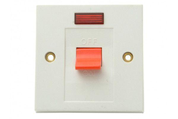 SMJ Flush DP Switch & Neon 30A