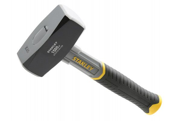 Stanley Tools Fibreglass Club Hammer 1.5kg (3.1/4lb)