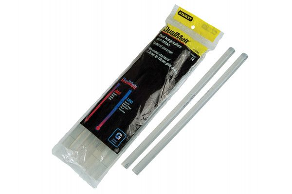 Stanley Tools Dual Temp Glue Sticks 11.3 x 250mm Pack of 12
