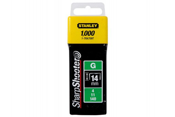 Stanley Tools TRA7 Heavy-Duty Staple 14mm TRA709T Pack 1000