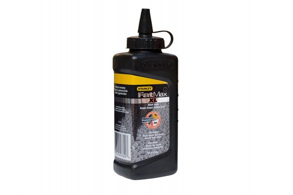 Stanley Tools FatMax® XL Square Bottle Chalk Refill 225g Black