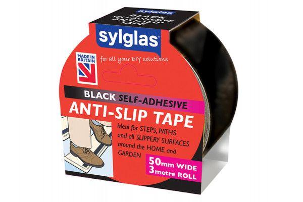 Sylglas Anti-Slip Tape 50mm x 3m Black