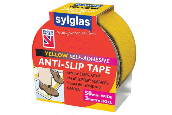 Sylglas Anti-Slip Tape 50mm x 3m Yellow