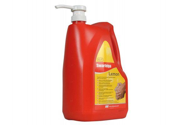 Swarfega Lemon Hand Cleaner Pump Top Bottle 4 Litre