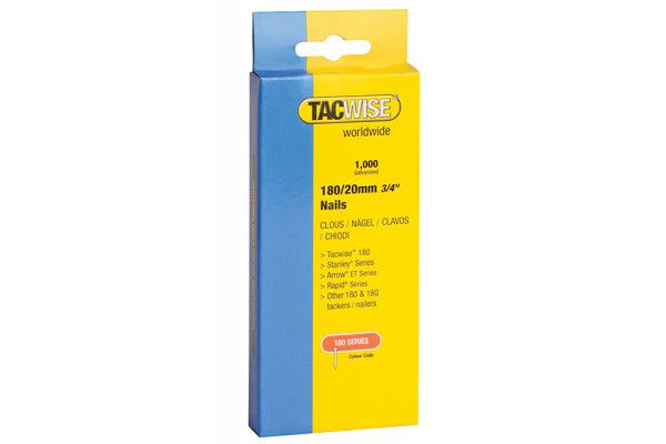 Tacwise, 180 Series 18 Gauge Nails