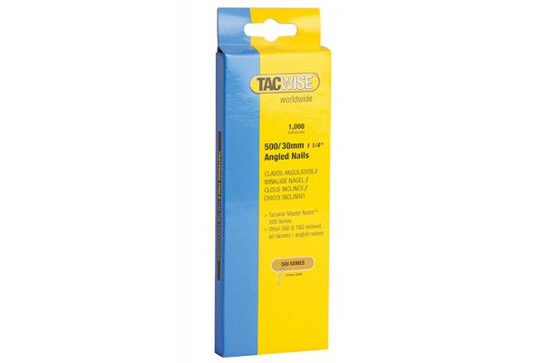 Tacwise, 500 Series 18 Gauge Angled Nails