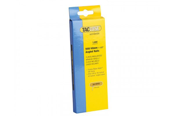 Tacwise 500 18 Gauge 40mm Angled Nails Pack 1000
