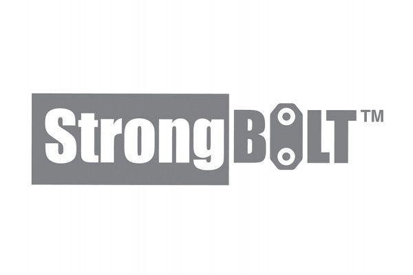 UNION StrongBOLT 2100 Mortice Deadlock Rebate Kit 13mm Polished Brass Box