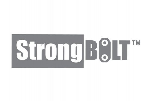 UNION StrongBOLT 2100 Mortice Deadlock Rebate Kit 25mm Polished Brass Box