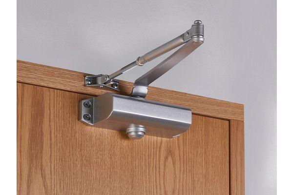 UNION CE3F Fixed Size 3 Rack & Pinion Door Closer Silver