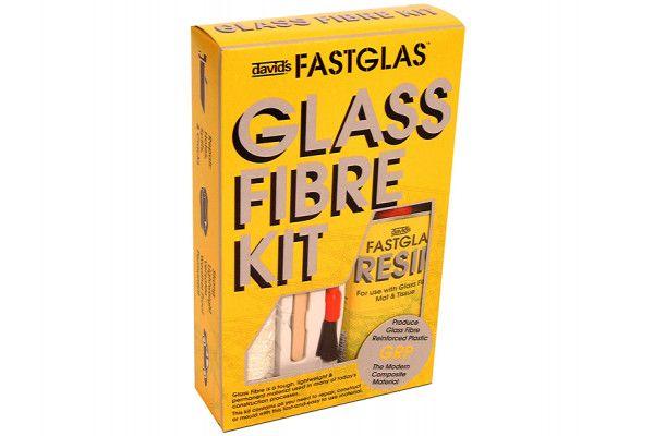 U-POL Fastglas Resin & Glass Fibre Kit Small