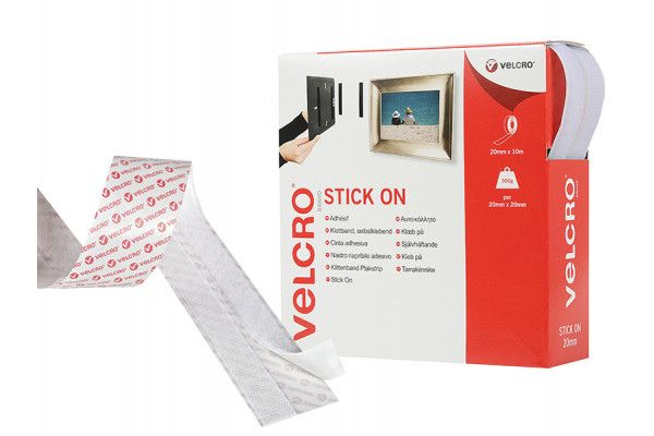 VELCRO® Brand, Hook & Loop Stick On Tape