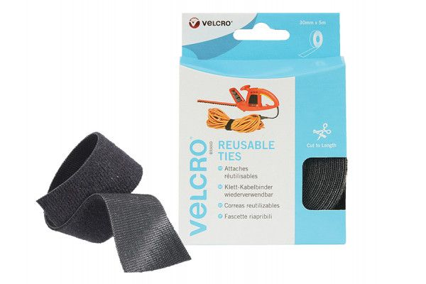 VELCRO® Brand VELCRO® Brand ONE-WRAP® Reusable Ties 30mm x 5m Black
