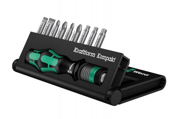 Wera Kraftform Kompakt 10 Screwdriver Bit Set of 10