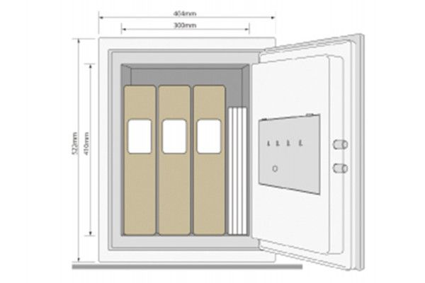 Yale Locks Certified Office Safe (2k Cash)