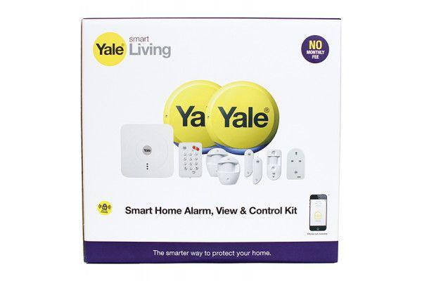 Yale Alarms SR-340 Smart Home Alarm, View & Control Kit