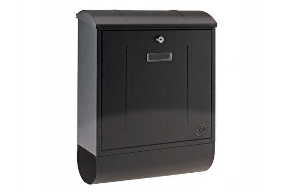 Yale Locks Montana Postbox Black