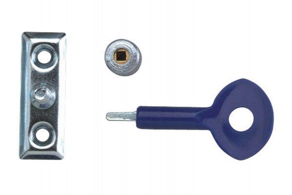 Yale Locks P111 Window Staylocks Polished Brass Finish Pack of 2