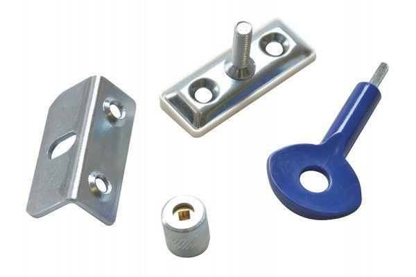 Yale Locks P121 Window Screw Locks Satin Chrome Pack of 6 P6P112