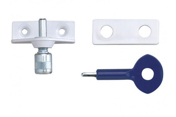 Yale Locks P120 Window Staybolts White Pack of 6 P6P120