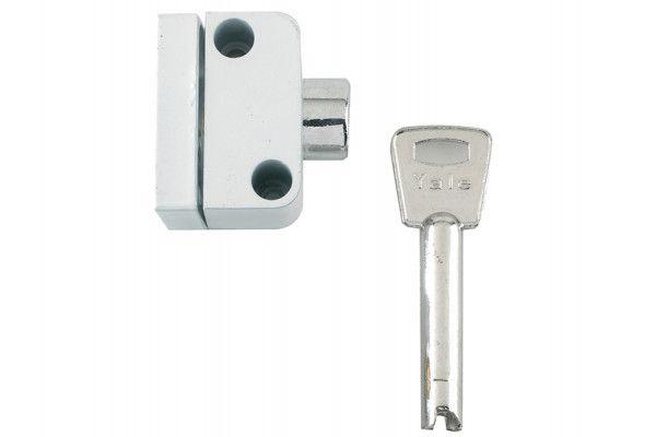 Yale Locks, 8K102 Push Button Window Lock