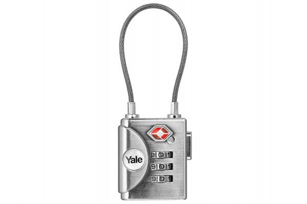 Yale Locks YTP3 TSA Soft Shackle Padlock 32mm