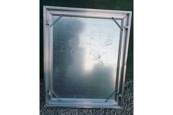 Alumatic - Recessed Manhole Cover - Triple Seal - Aluminium