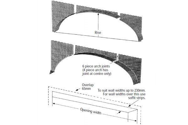Arch Former - Elliptical