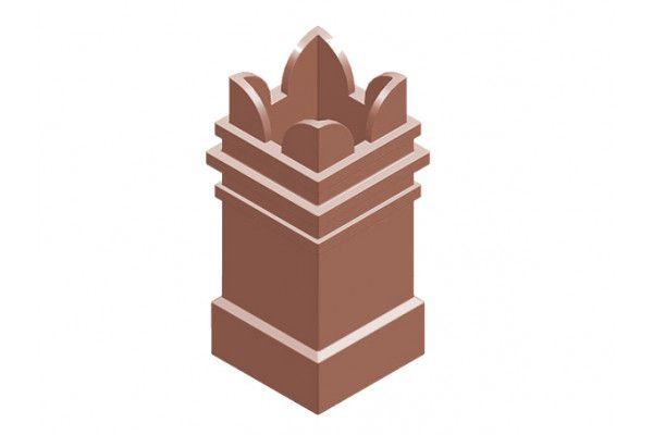 Chimney Pot - Square Spiked (KYQ23)