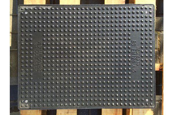 Composite A15 Manhole Cover - 600 x 450mm