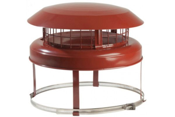 Chimney Accessories - Economy Anti Downdraught Round Cowl