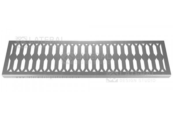 Aquascape - Drainage Channel Cover - Stainless Steel Grate - Crystal