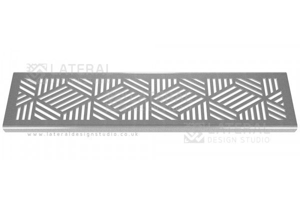 Aquascape - Drainage Channel Cover - Stainless Steel Grate - Cubix