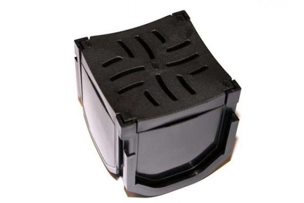 Flo Safe - Domestic Drainage Quad Box - Plastic (Heel Safe)