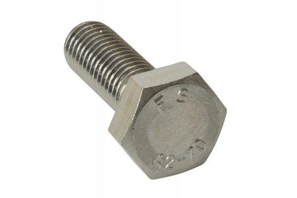 Forgefix High Tensile Set Screw ZP M8 x 90mm Bag 10
