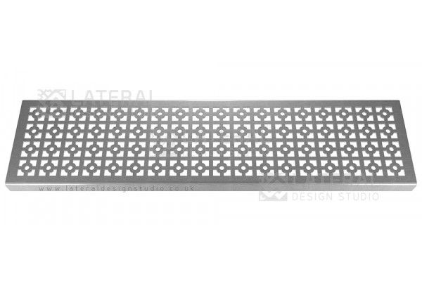 Aquascape - Drainage Channel Cover - Stainless Steel Grate - Geo Round