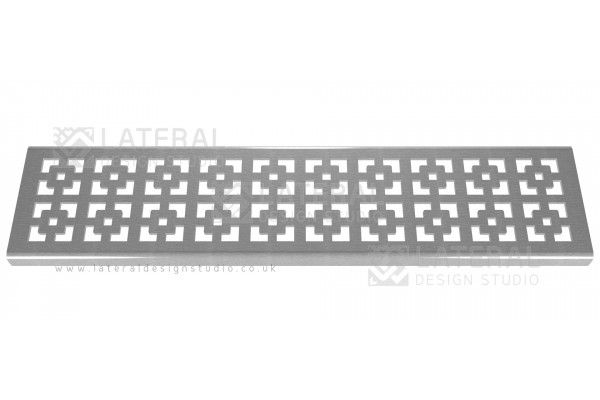 Aquascape - Drainage Channel Cover - Stainless Steel Grate - Geo Squares
