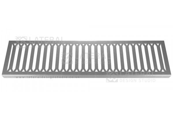 Aquascape - Drainage Channel Cover - Stainless Steel Grate - Hexagon