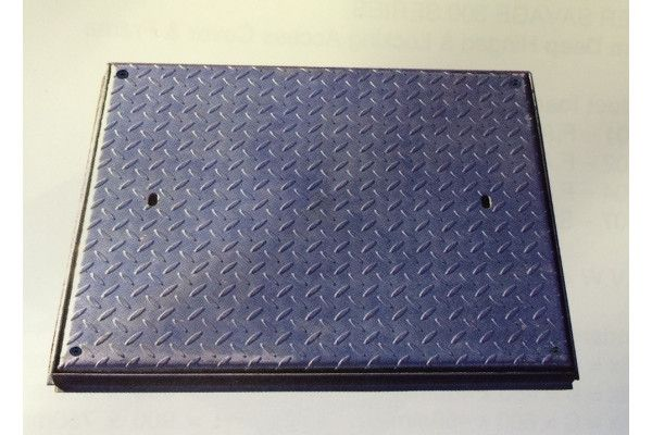 Manhole Covers - Solid Top Galv - Locking - Single Seal