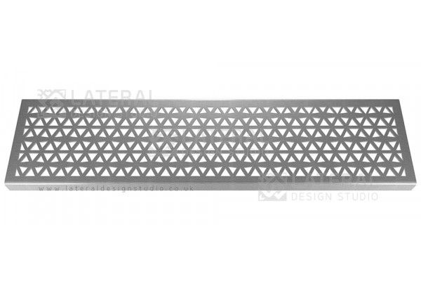 Aquascape - Drainage Channel Cover - Stainless Steel Grate - Pyramid