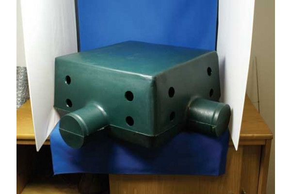 Groundwork Materials - Radon Gas Barrier - Radoncare Sump and Cavity Gas Vent System