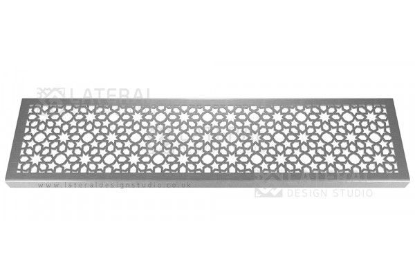 Aquascape - Drainage Channel Cover - Stainless Steel Grate - Star Burst